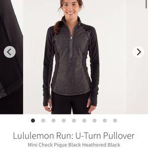 Lululemon U-Turn Pullover (Reversible) - Sz 10